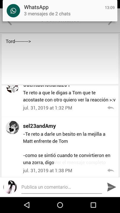 Mientras Edd Y Matt No Estan Tomtord Respuestasss Wattpad