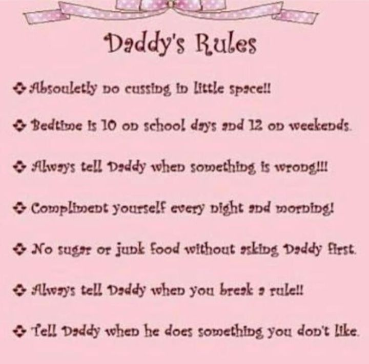 Daddy kink regeln