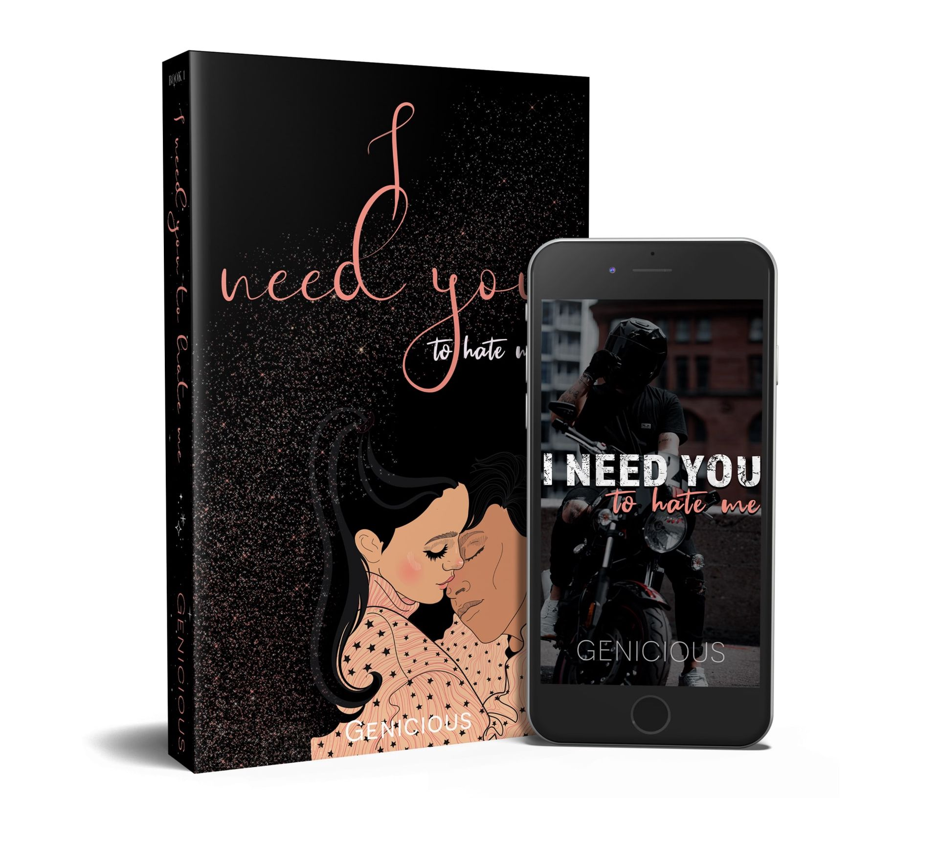 I Need You To Hate Me [published]   READ FIRST   Wattpad