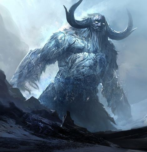 """""""Whom dares intrude upon my space of rest?"""" Its voice shook the air and its action flurried snow into the atmosphere"""