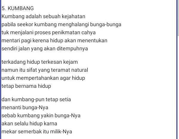 Bengkel G2c Puisi By Leader Fais Page 2 Wattpad