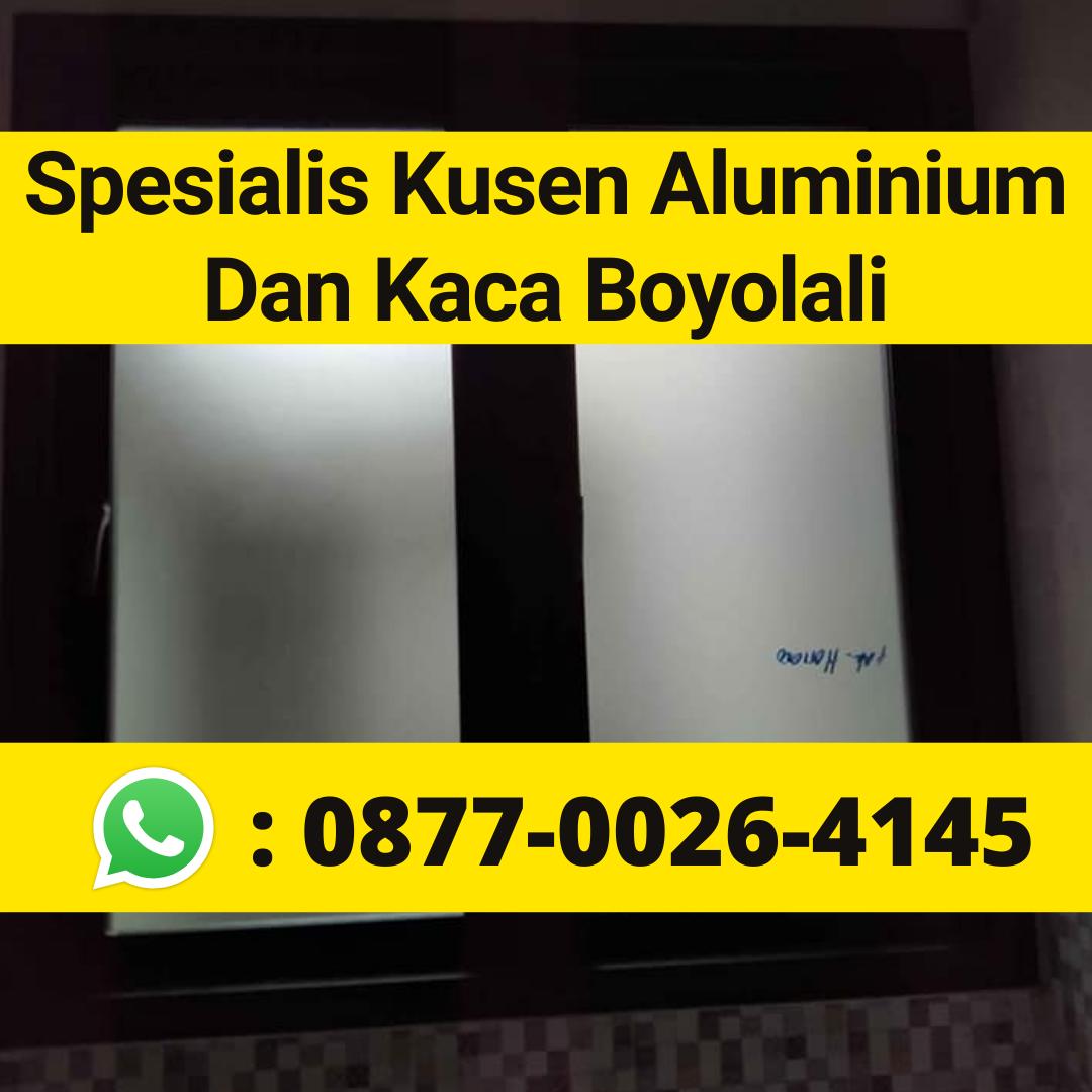 NOMOR 1 Telp/Wa 0877-0026-4145, Pintu Kaca Aluminium Klego Boyolali