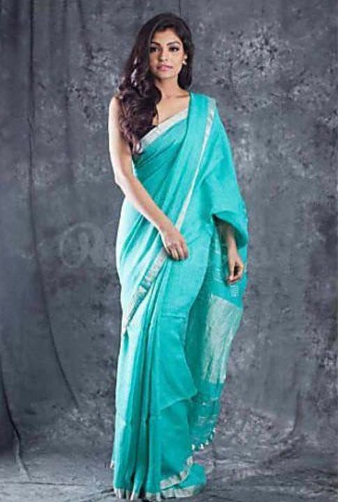 The girl who hated wearing saree is the one who is wearing it and was looking beautiful to
