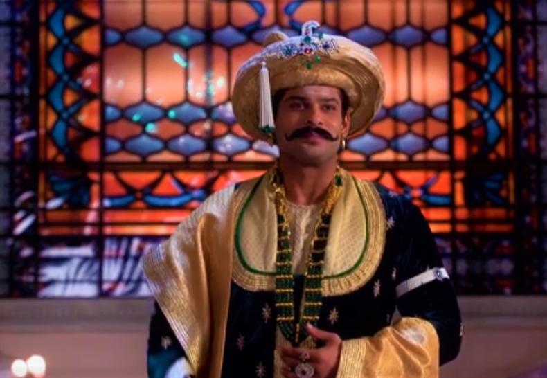 "Rajamata to the bride - ""Avni, remove your veil"