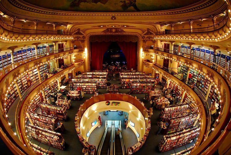 Um levantamento apresentado no World Cities Cultural Forum aponta que Buenos Aires é a cidade com maior número de livrarias por habitantes no mundo