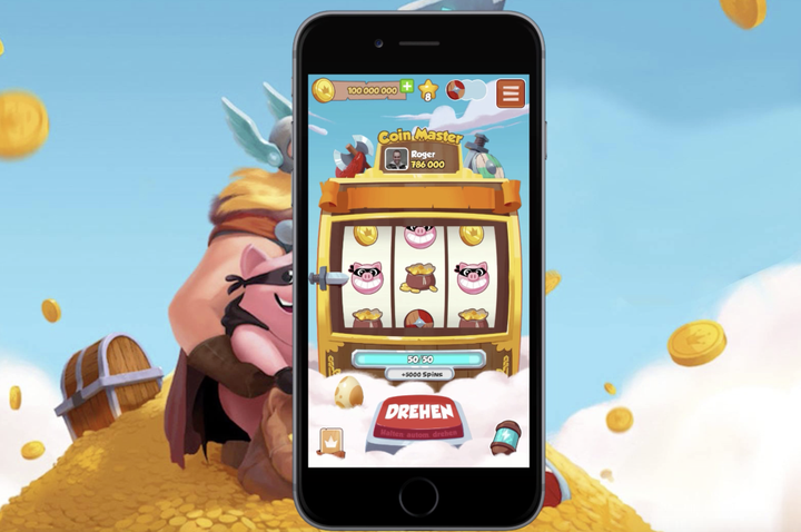 """Download the Coin Master links app, navigate to """"daily links"""" and press on the buttons!"""