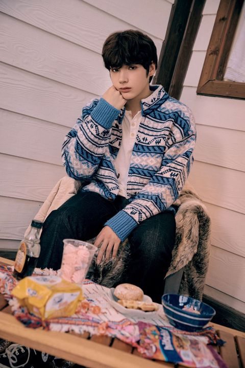 -Choi Soobin-20 years old-kind-hearted, good, and innocent-Friend of Chimon and Taehyun-boyfriend is Yeonjun