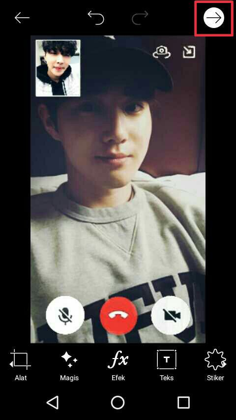 11 screenshoot video call