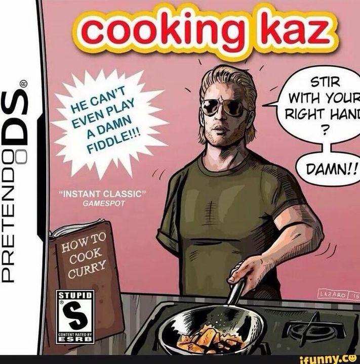 Kazuhira Miller Instagram Cooking Kaz Wattpad Glad to be with you, boss. kazuhira miller instagram cooking kaz