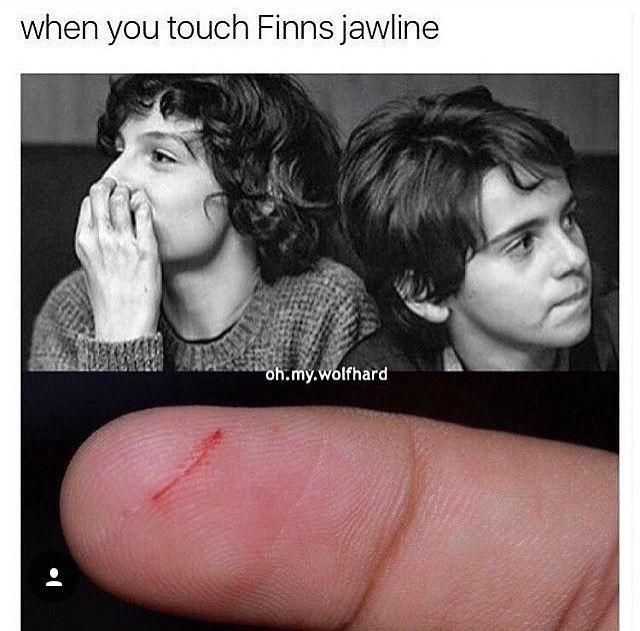 Stranger Things Memes 2 Finn S Jawline Wattpad