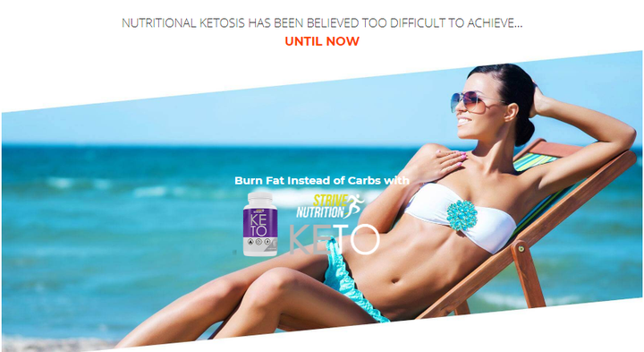 Strive Nutrition Keto will guarantee that the purchaser can rest appropriately and won't allow one to experience the ill effects of sleep deprivation or migraine