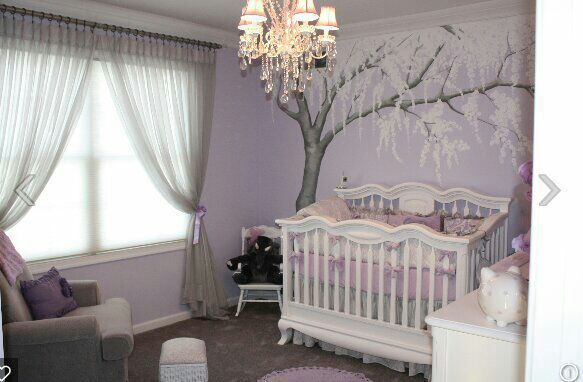 He walked in and I gasped, the room had a lavender color theme and was very detailed