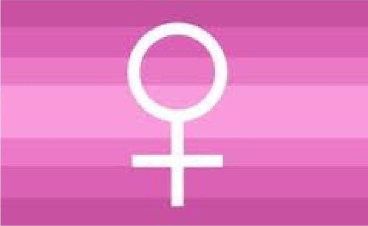 Cisgender Female Flag