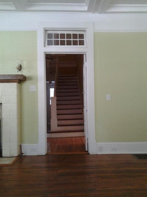 Going upstairs-
