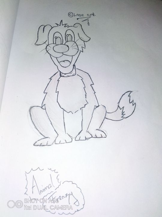 This was my first drawing ever