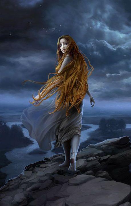 Niënor, Túrin's younger sister whom he has never met