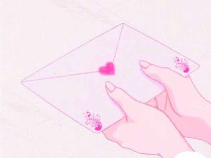 I got to admit, the envelope looked quite pretty and my favourite colour was pink so no wonder why I thought that