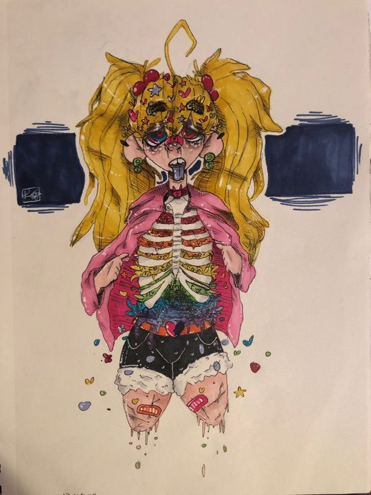 Old Wowow Artbook 5 Candy Gore Warning Wattpad All you need is a marker, paper, and something to color with. old wowow artbook 5 candy gore