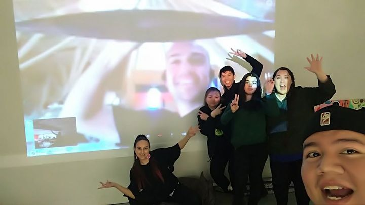 In addition to working with Indigenous guests at the ROM, the YC has visited the Native Canadian Centre and has participated a Skype call with Australian Musician Mitch Tambo