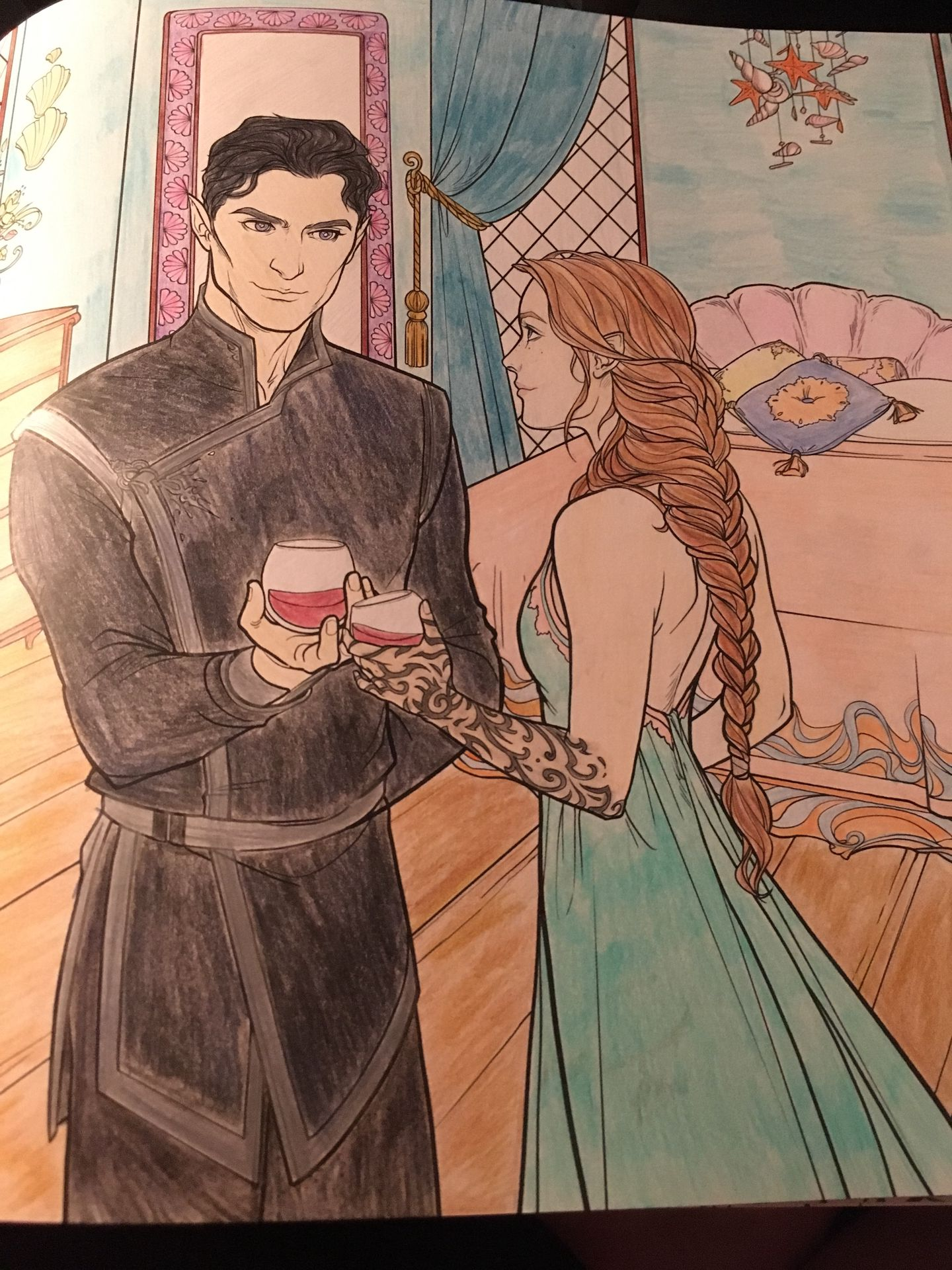 ACOTAR and ToG Talk - Coloring Book Pages - Wattpad