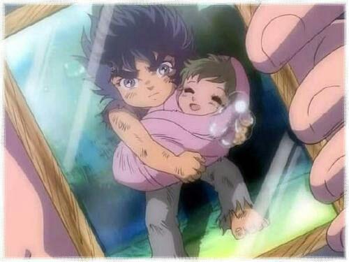 Ikki con shun niño