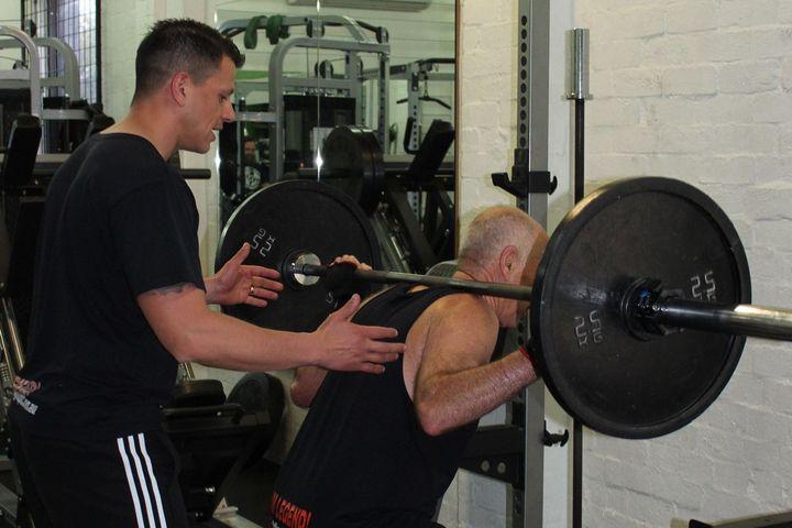 Triceps Kick Backs: