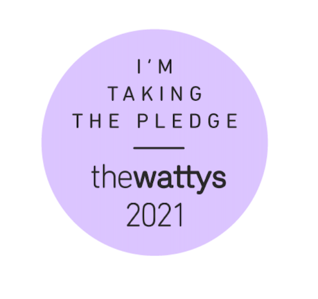 Showcase your commitment to entering the 2021 Watty Awards on your Wattpad profile or on social media