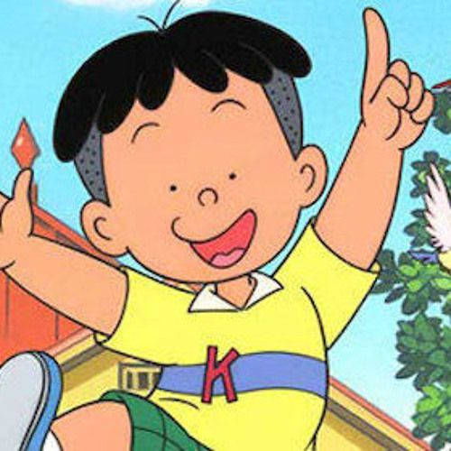 Kalau kacamata tebalnya dilepas dan rambut cepaknya diganti rambut mangkok, jadilah dia Kobo Chan