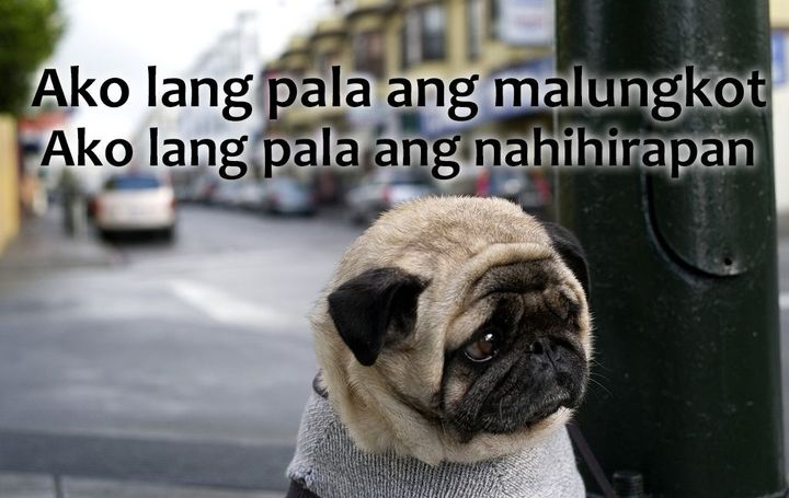 Hugot Lines Of A Broken Heart Ako Lang Pala Wattpad
