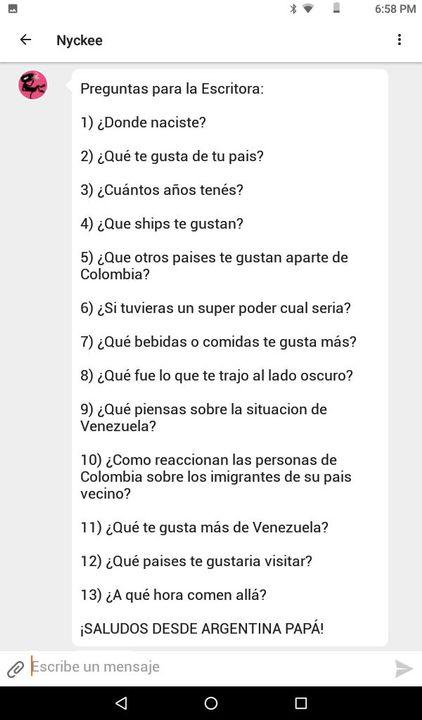 Preguntale A Colombia Countryhumans Preguntas Para Ambos Wattpad