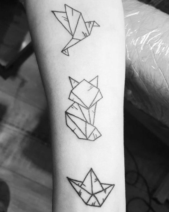 Significations De Tatouages Symboles 2 Origami Wattpad