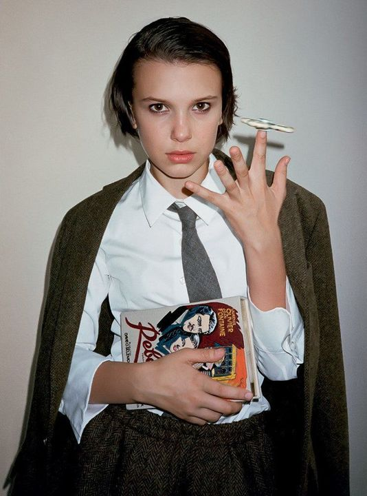 Millie Bobby Brown as herself