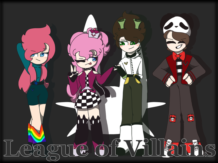 Lyn S Sketchbook 2 0 Ldshadowlady S League Of Villains Wattpad Strength the league of villains is the most powerful villain organization in the criminal underworld. league of villains wattpad
