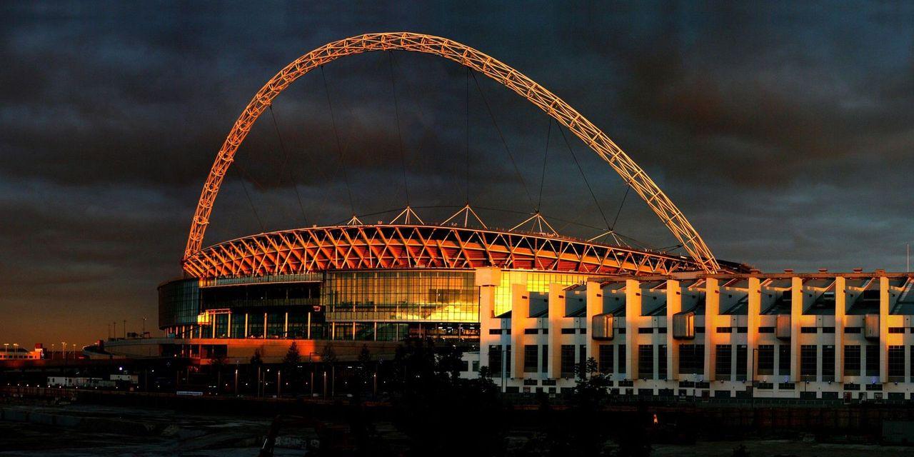 Standing 436 feet high, Wembley stadium had an amazing infrastructure