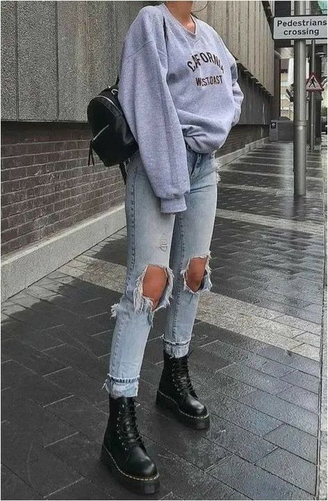 (Change the boots the hightop dark blue converse)(Btw, i know Gracie Abrams has short hair but think of it as long, Gracie is who Bailee is taking over)