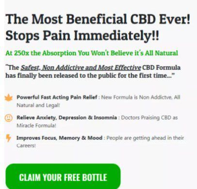 The focal element of this product is the Simply CBD oil