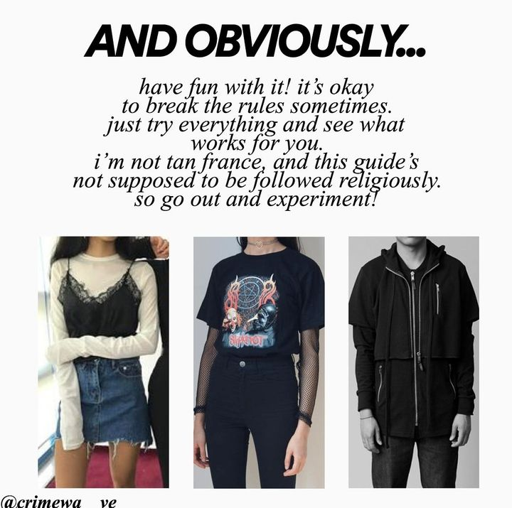 Here are some visual references to get the idea of how egirls dress: