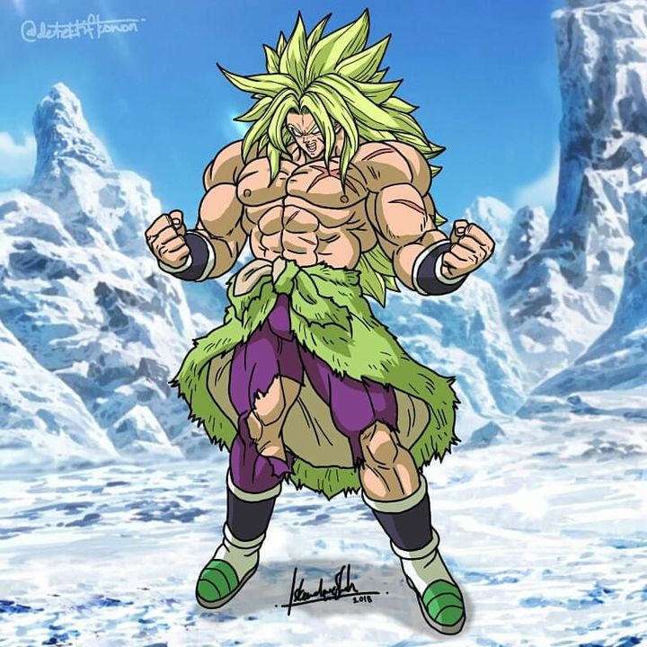 A/N: so what do you get when you mix god broly and dbs broly?