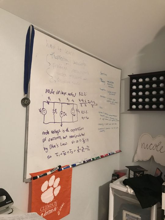 Oh and I literally drew out one of the circuits methodologies on my whiteboard because why not?