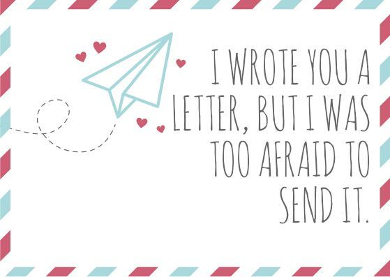 (Word prompt reads: I wrote you a letter, but I was too afraid to send it