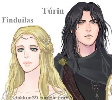 In love with Túrin, and betrothed to his friend Gwindor