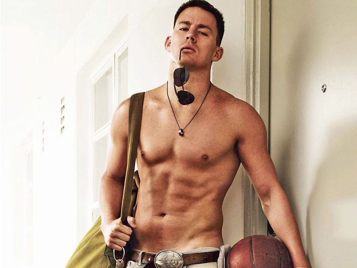 Here's a random picture of Channing Tatum: