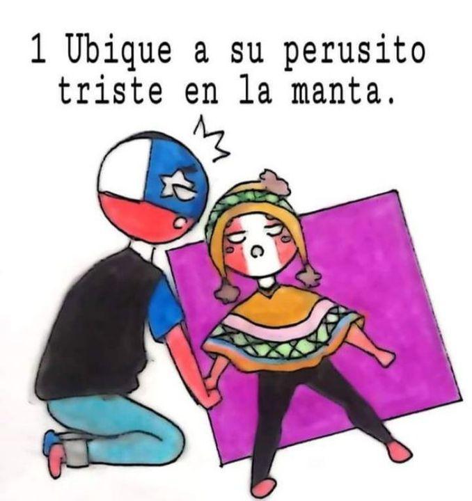 Countryhumans Comics Peru X Chile Wattpad
