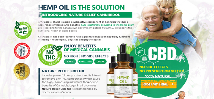 You can acquire Nature Relief CBD Oil Canada online from its official website
