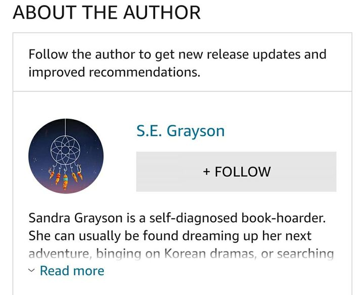 That's right, if you follow me on Amazon, you'll get a notification when the book is completed and ready for you to read-- no waiting for updates on new stories