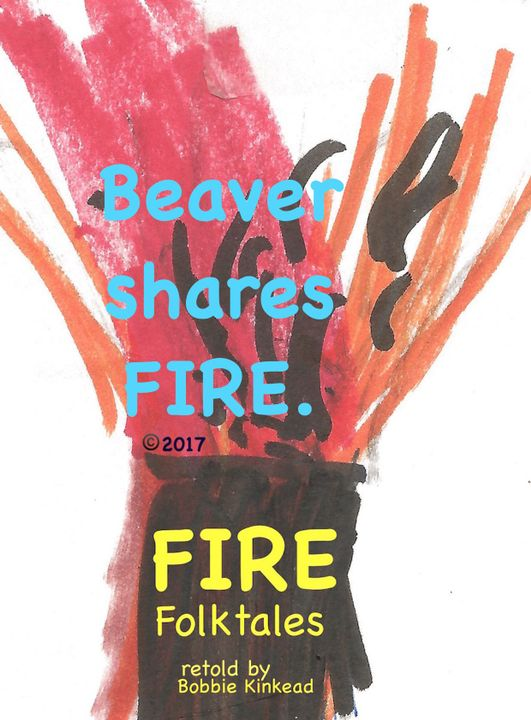 FIRE was given to the Pines when Hummingbird Quinde stole a flicker from the hearth from the great man, Taquea, and carried FIRE in his tail to the Pine trees