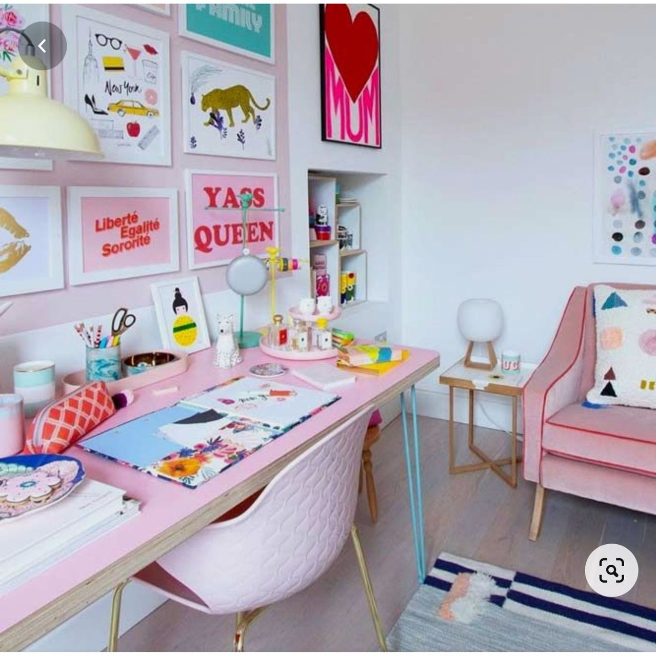 Khushi's Study ( Where in she spends Hours if she has to proceed with full on Animation/Graphics Projects - Her Creative Haven)