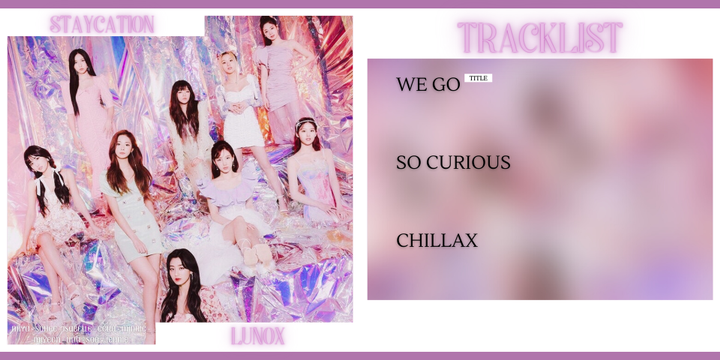 ╰⁃⁃⁃⁃⁃⁃⁃ › TRACKLISTthree songs in total