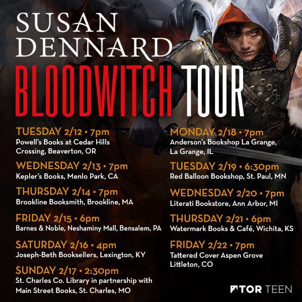 And of course, the fourth book in the Witchlands series releases on February 12th! Will I see you on my tour?