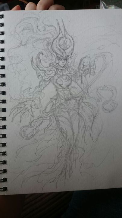 Artwork Compilation Syndra Lol Pencil Sketch Wattpad Character art art sketches vi league of legends league of legends characters legend drawing anime drawings tutorials anime sketch anime league of legends' free art book is incredible. artwork compilation syndra lol pencil